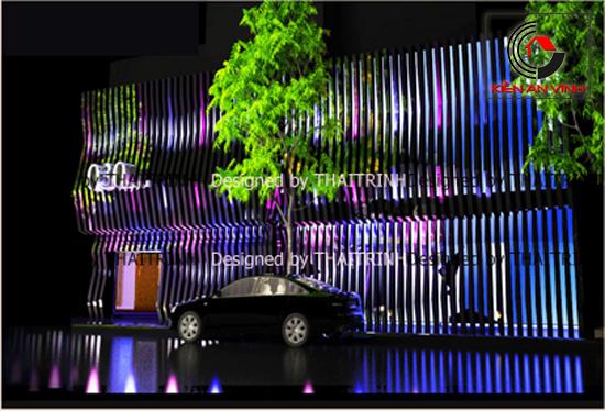 Thiết kế quán bar club 01