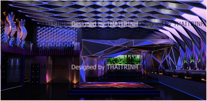 Thiết kế quán bar club 04