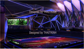 Thiết kế quán bar club 05
