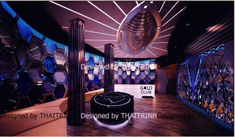 Thiết kế quán bar club 06