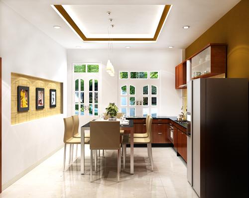 thiết kế phòng bếp 2