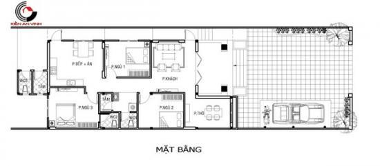 thiết kế biệt thự vườn một tầng-05