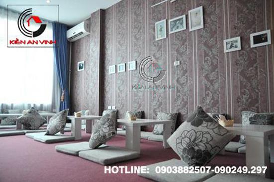 Thiết kế quán cafe bệt cún hút 011