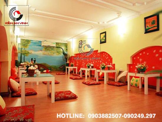 Thiết kế quán cafe bệt cún hút 012