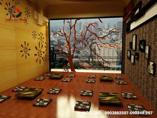 Thiết kế quán cafe bệt cún hút 014