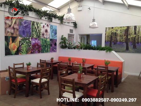 Thiết kế quán cafe sân vườn Cổ Mộc 07