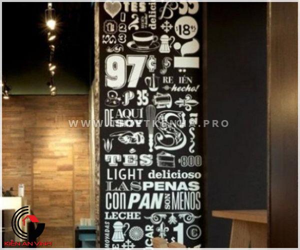 thiết kế quán cafe phong cách color block 4