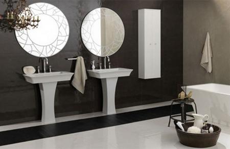 Phong cách phòng tắm cho gia đình