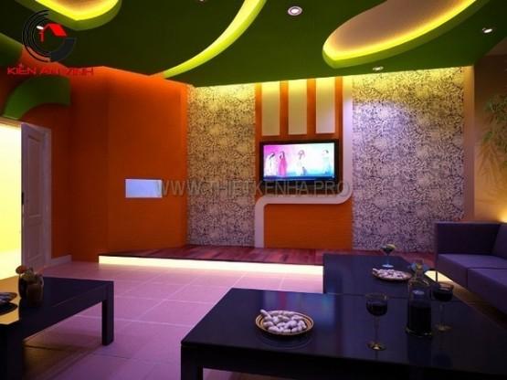 Thiết kế quán karaoke Idol