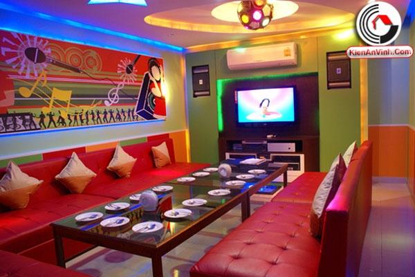 Thiết kế karaoke Thanh Niên