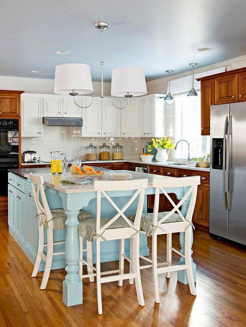 Xu hướng bếp mới: Tối giản, đầy màu sắc 1