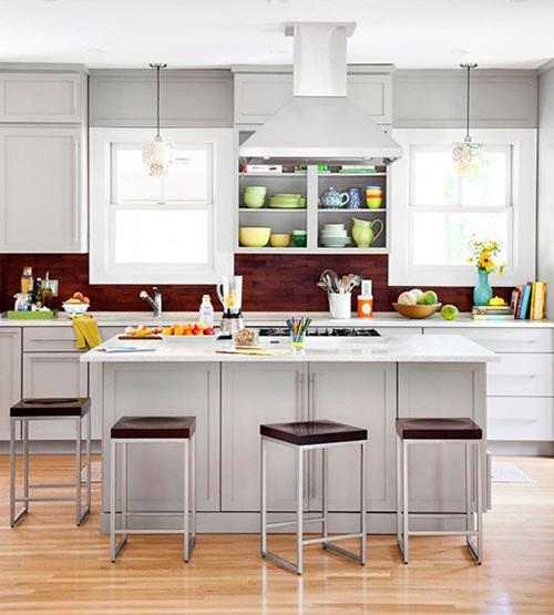 Xu hướng bếp mới: Tối giản, đầy màu sắc 10