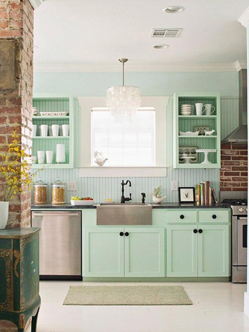 Xu hướng bếp mới: Tối giản, đầy màu sắc 4
