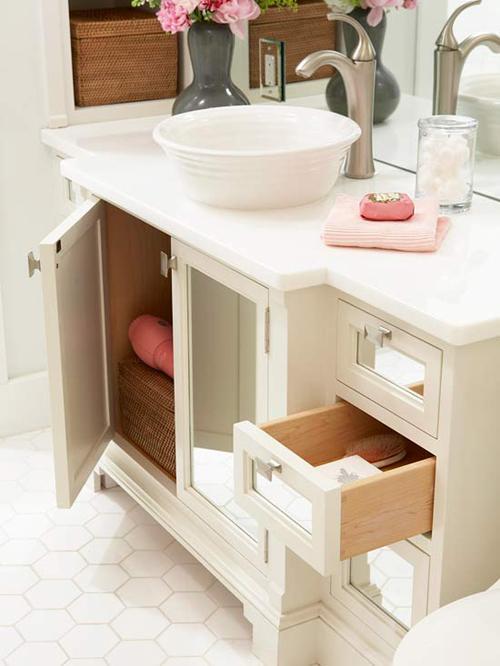 Bài trí phòng tắm nhỏ mà quyến rũ - Archi