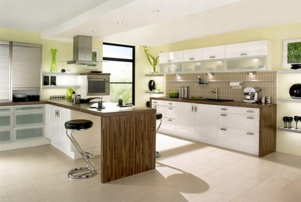 Cách bài trí bếp đem lại hòa khí cho gia đình 1
