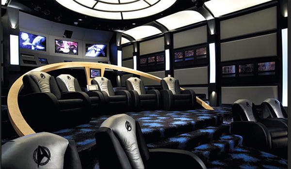 Rạp phim phong cách Star Trek.