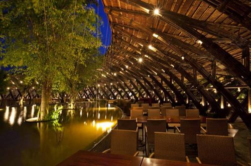 Nhà hàng tre bamboo wing 3
