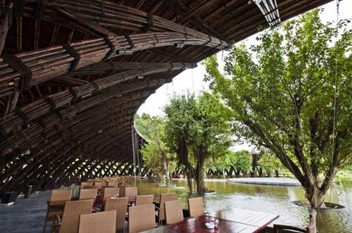 Nhà hàng tre bamboo wing 4