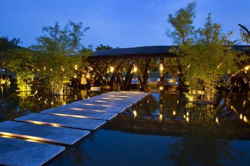 Nhà hàng tre bamboo wing 6