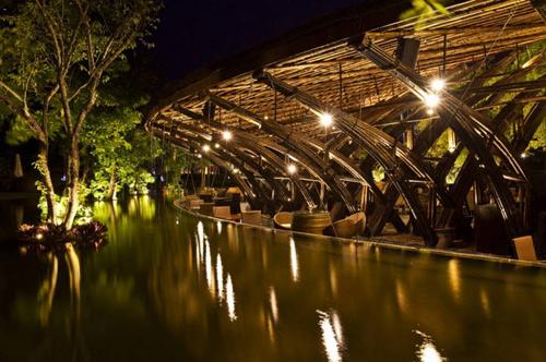 Nhà hàng tre bamboo wing 8