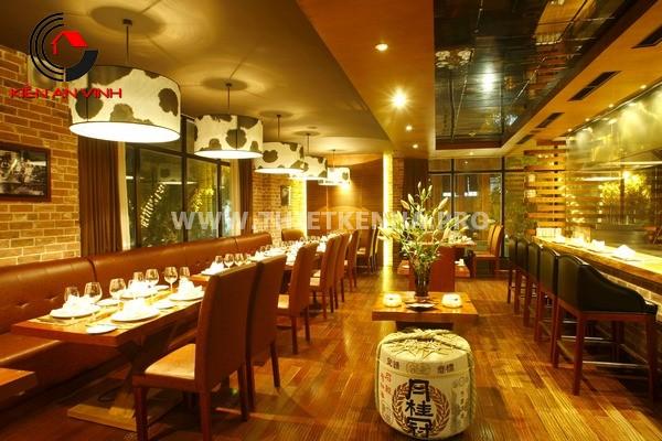 Mẫu thiết nhà hàng đẹp mắt 9