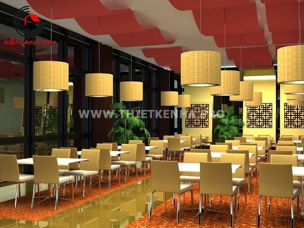 Mẫu thiết nhà hàng đẹp mắt 10