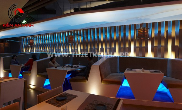 Thiết kế nhà hàng theo phong cách Origami 2