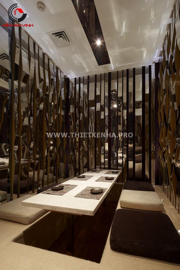 Thiết kế nhà hàng theo phong cách Origami 4