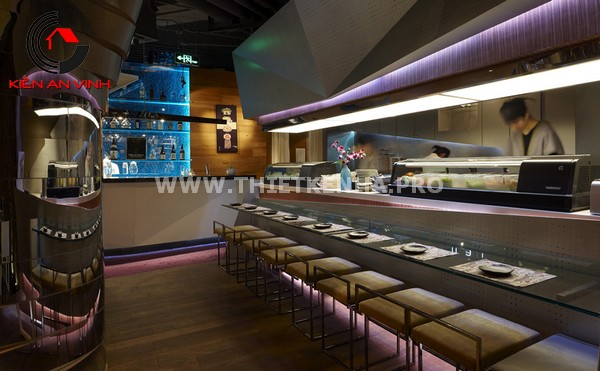 Thiết kế nhà hàng theo phong cách Origami 5