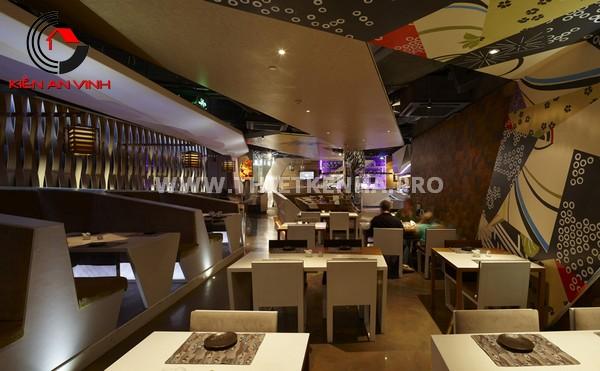 Thiết kế nhà hàng theo phong cách Origami 6