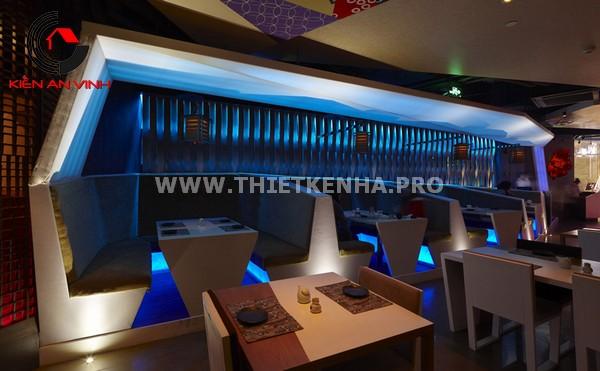 Thiết kế nhà hàng theo phong cách Origami 7