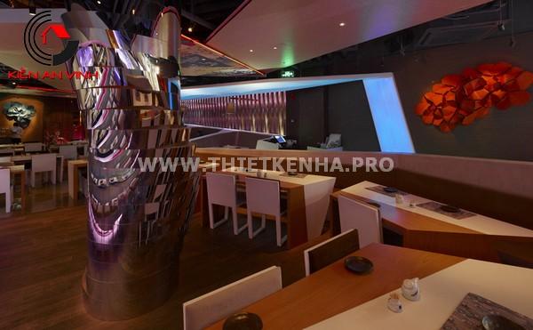 Thiết kế nhà hàng theo phong cách Origami 8