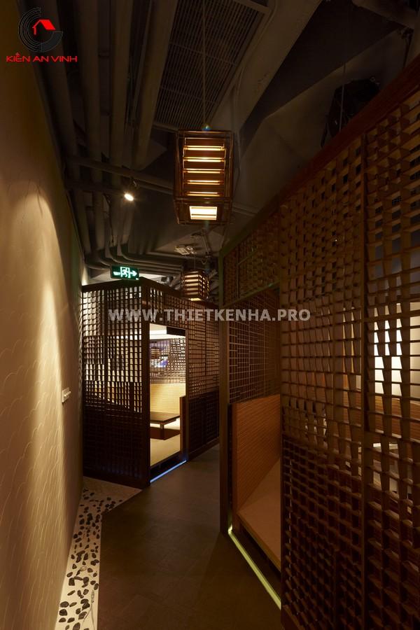 Thiết kế nhà hàng theo phong cách Origami 9