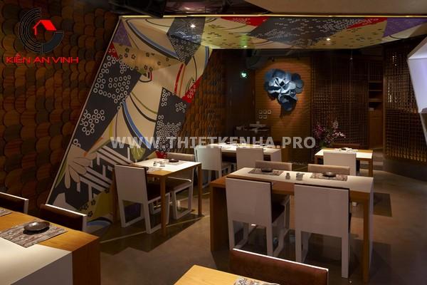 Thiết kế nhà hàng theo phong cách Origami