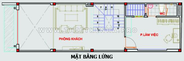 thiết kế sơ bộ tầng lửng