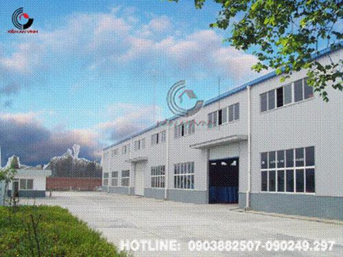 Thiết kế nhà xưởng sản xuất