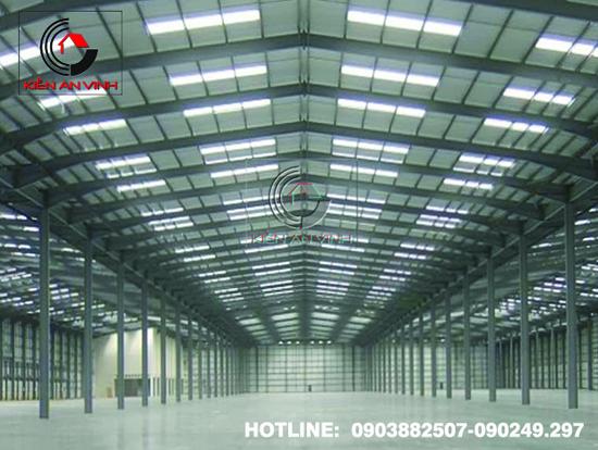 Thiết kế thi công nhà xưởng công nghiệp 010