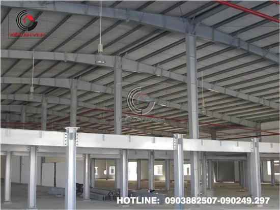 Thiết kế thi công nhà xưởng công nghiệp 011