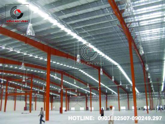 Thiết kế thi công nhà xưởng công nghiệp 03