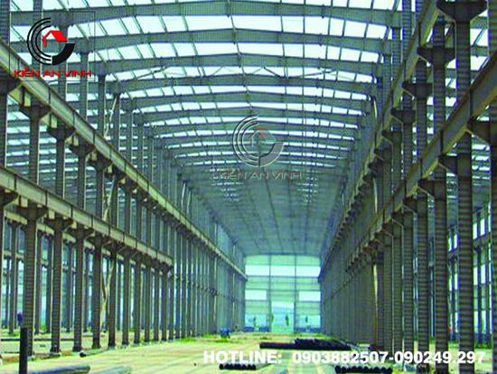 Thiết kế thi công nhà xưởng công nghiệp 07