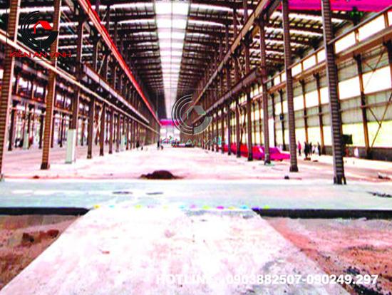 Thiết kế thi công nhà xưởng công nghiệp 08