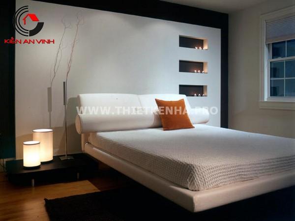 Mẫu thiết kế phong ngủ cho nhà phố 6