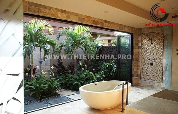 Gợi ý trang trí phòng tắm từ cảm hứng thiên nhiên 4