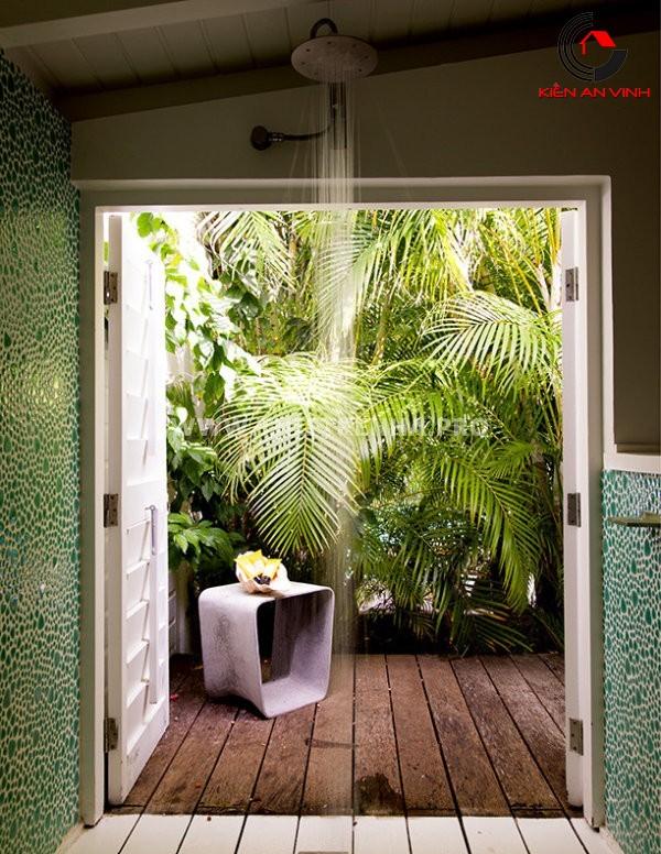 Gợi ý trang trí phòng tắm từ cảm hứng thiên nhiên 5