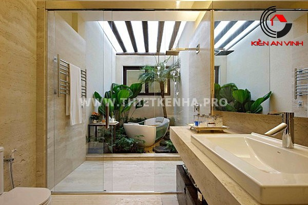 Gợi ý trang trí phòng tắm từ cảm hứng thiên nhiên 6