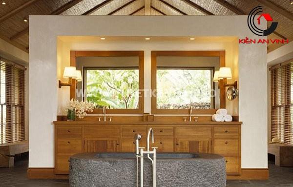 Gợi ý trang trí phòng tắm từ cảm hứng thiên nhiên 7