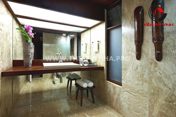 Gợi ý trang trí phòng tắm từ cảm hứng thiên nhiên 9