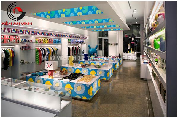 thiết kế cửa hàng robo 1