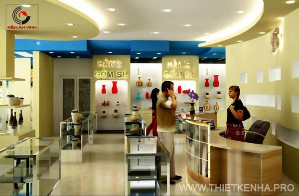 thiết kế showroom