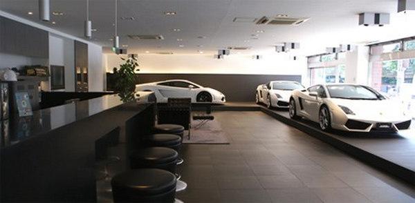 thiết kế showroom xe hơi 3